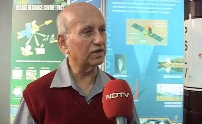 Ex-ISRO chief UR Rao Passes away at 85