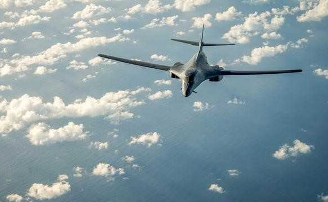 US Flies Bombers Over Korean Peninsula After North Korea Missile Test