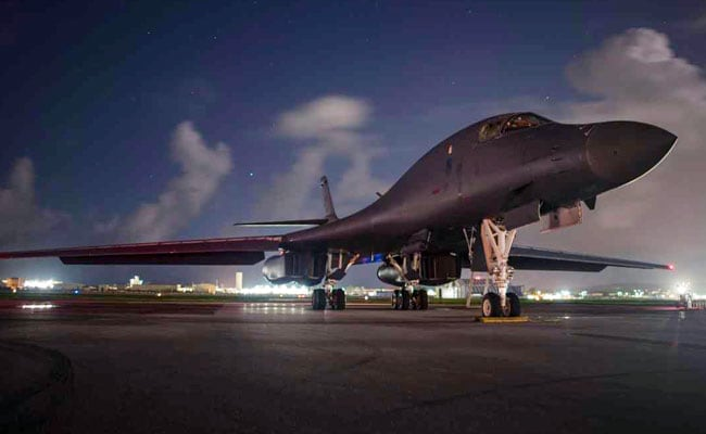 Amid Tensions, US Flies Bombers Over Korean Peninsula In Show Of Force