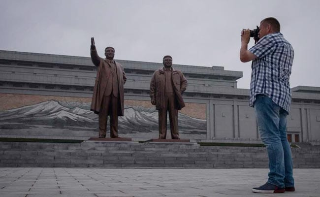 us tourist in north korea afp