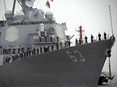 US Warship Sails Close To South China Sea Island Occupied By Beijing