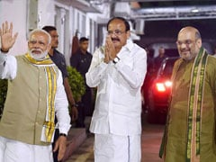 वेंकैया नायडू Vs गोपाल कृष्ण गांधी : उपराष्ट्रपति चुनाव के लिए आज सुबह 10 बजे से मतदान