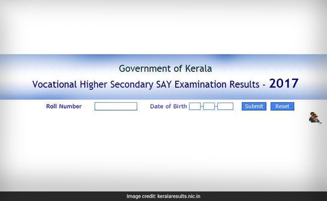 vhse kerala say result