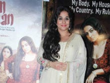 Vidya Balan Says She Is 'Bored' Of The Nepotism Debate