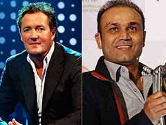 Piers Morgan Takes A Fresh Swipe At Virender Sehwag Who Hits Back