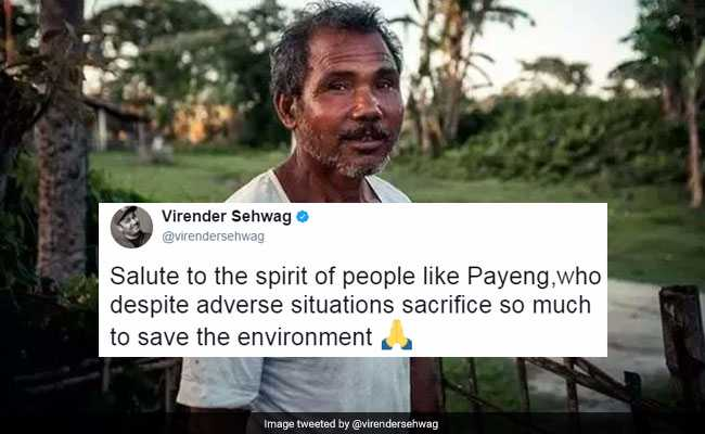 Virender Sehwag Shares Story Of 'Forest Man Of India'. Twitter Applauds