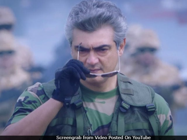 Ajith's Vivegam Gets A Release Date. Here's How Long You Have To Wait