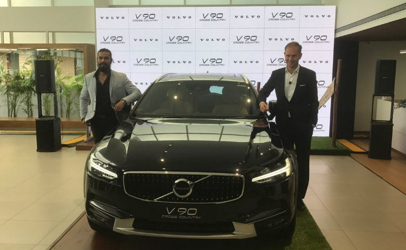 Volvo V90 Cross Country Launched in India; Priced At &#8377 60 lakh