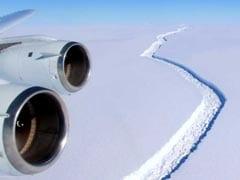 अंटार्कटिका से टूटकर अलग हुआ एक खरब टन का आइसबर्ग