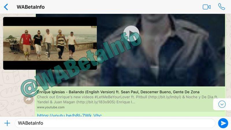 WhatsApp में जल्द आ सकता है नया फ़ीचर, ऐप में ही देख सकेंगे यूट्यूब वीडियो