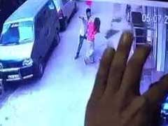 Killer Filmed On CCTV Stabbing Delhi Woman Arrested In Mumbai