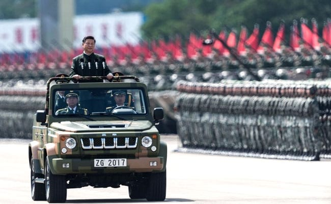 Chinese Army Can Defeat 'All Invading Enemies', Says Chinese President Xi Jinping