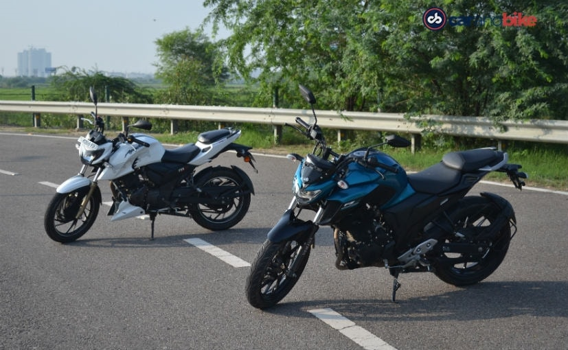 yamaha fz25 vs tvs apache rtr 200 4v comparison