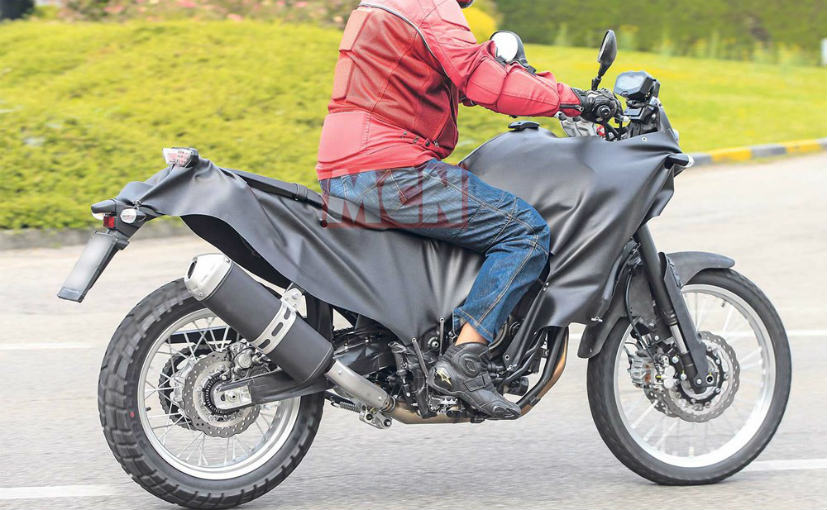 yamaha mt07 adventure spyshot