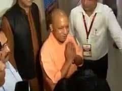 UP Chief Minister Yogi Adityanath Casts Votes For Presidential Election