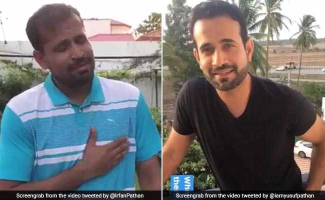 Heard Yusuf Pathan, Irfan Pathan Singing Along To Bollywood Numbers Yet?