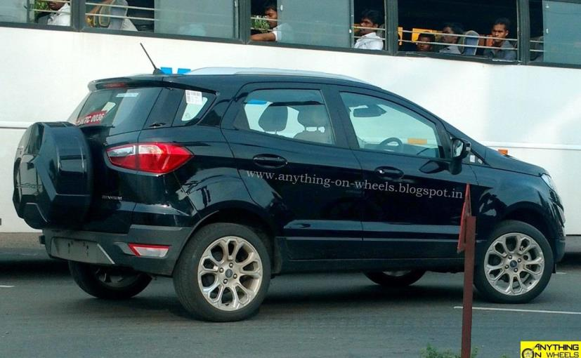 2017 Ford Ecosport Facelift Side