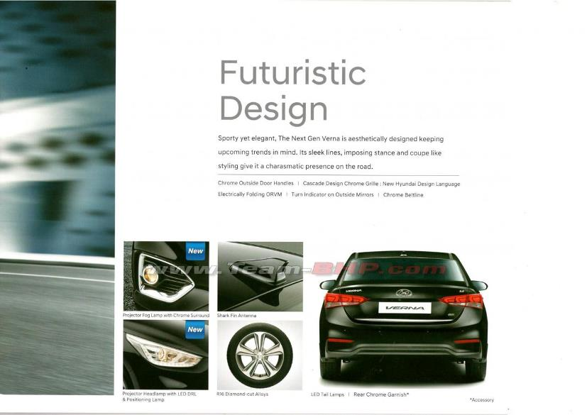 Hyundai Verna brochure leaked; specifications, features and others revealed