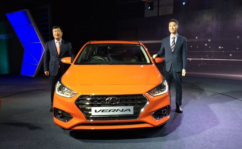 The 2017 Hyundai Verna comes in four variants, which are the E, EX, SX and the AX (O)