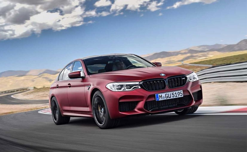 BMW M5: Here It Is, With 600 HP and All-Wheel Drive