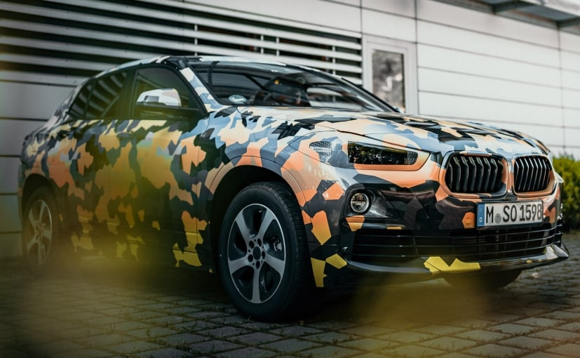 2018 bmw crossover. fine crossover 2018 bmw x2 crossover teased in latest camouflaged images intended bmw crossover