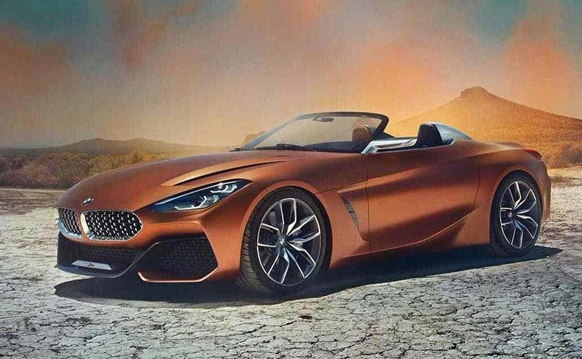 The orange droptop will make a grand entrance at the Pebble Beach Concours dElegance on August 20.