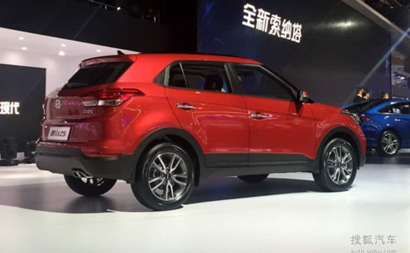 2017 Hyundai Ix25 Hyundai Creta Facelift Unveiled At 2017 Chengdu