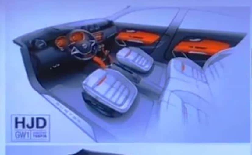 2018 renault duster interior sketch leaked