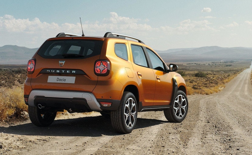 2018 renault duster unveiled. delighful duster 2018 renault duster rear with unveiled c