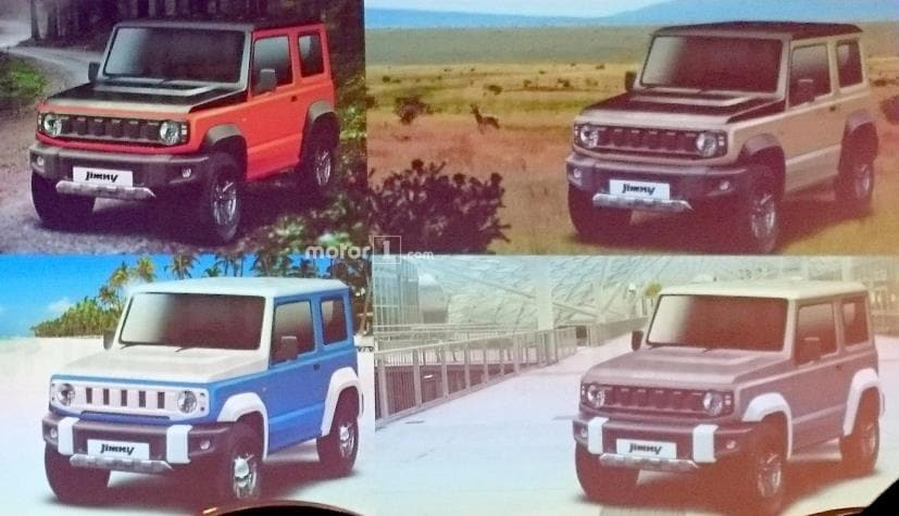 2018 suzuki cruiser. fine 2018 2018 suzuki jimny leaked for cruiser