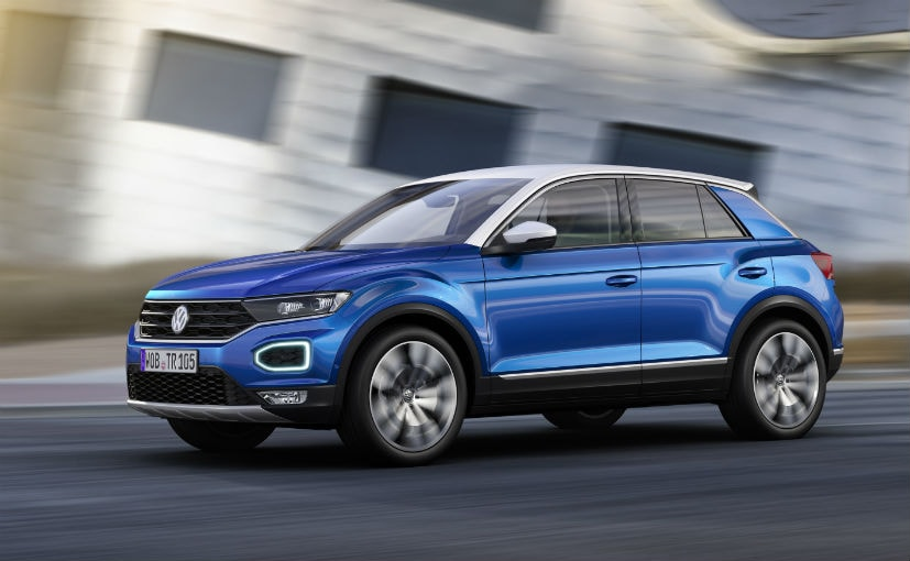 2018 volkswagen t roc compact suv revealed ndtv carandbike. Black Bedroom Furniture Sets. Home Design Ideas