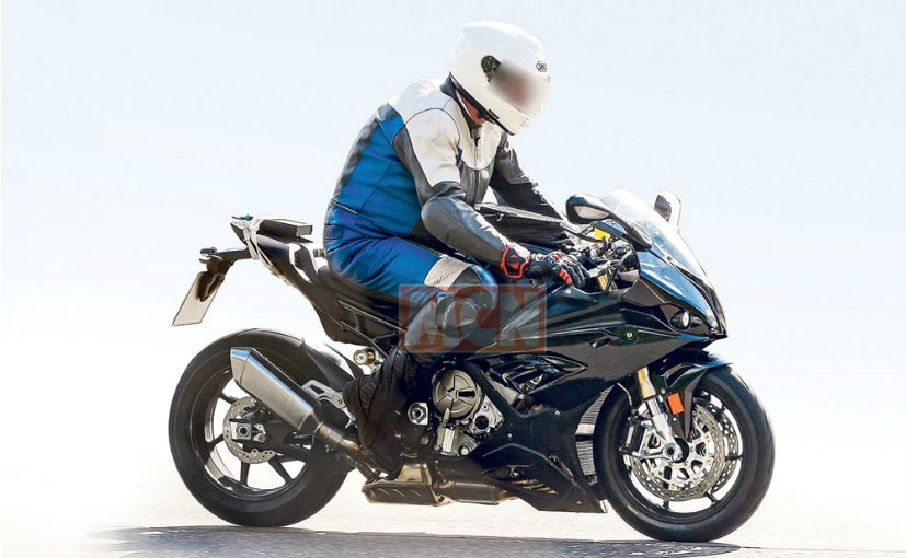New Generation Bmw S1000rr Spotted Testing Ndtv Carandbike