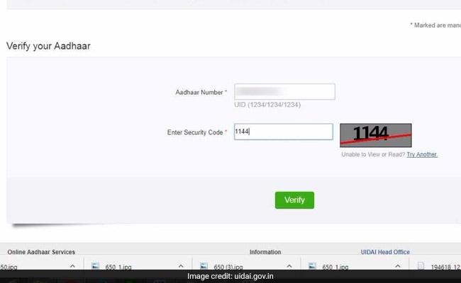 How To Verify If Your Aadhaar Number Is Valid