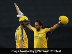 Shahid Afridi Back To His Devastating Best In 42-Ball Hundred