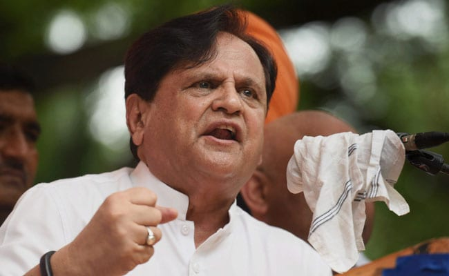 BJP Doesn't Have Sole Contract Over Nationalism: Ahmed Patel