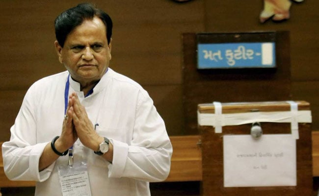 Ahmed Patel Snatches Win In Gujarat Rajya Sabha Nail-Biter: 10 Points