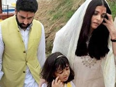 ऐश्वर्या राय बच्चन ने इलाहाबाद में संगम में विसर्जित की पिता की अस्थियां