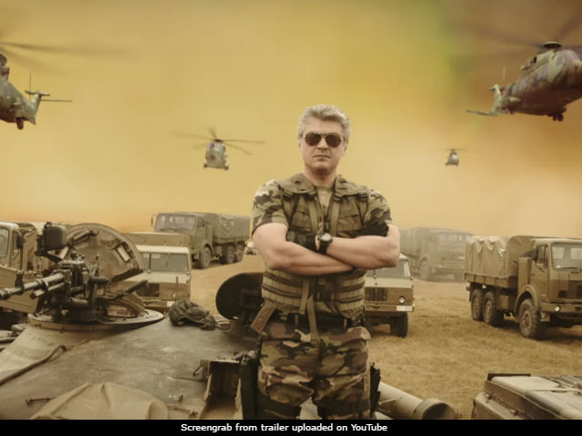 Vivegam Trailer - Ajith Vs Vivek Oberoi In A Desi Mission: Impossible