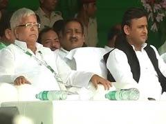 BJP 'गूगल' वाली पार्टी, यहां की भीड़ देखकर हो रही होगी चिंतित: अखिलेश यादव