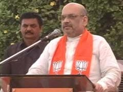 Three Generations Of Congress Insulted Gujarat, Says BJP Chief Amit Shah