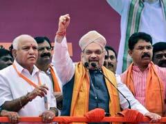 Amit Shah, Yeddyurappa Pledge Congress-<i>Mukt</i> Karnataka