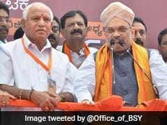 Nudged By Amit Shah, BS Yeddyurappa Gets Working On Mission Karnataka