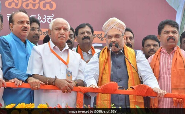 Amit Shah Slams Karnataka Government, Says It Is 'Corrupt'
