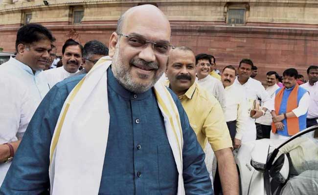 Amit Shah Makes His Debut In Rajya Sabha. Here's Where He Will Sit.