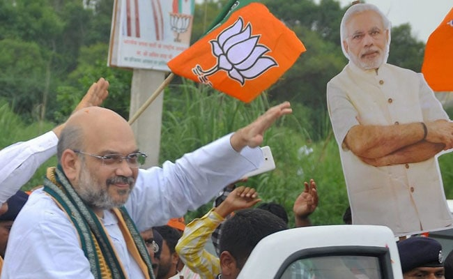 We are moving towards Congress-free Gujarat: BJP""