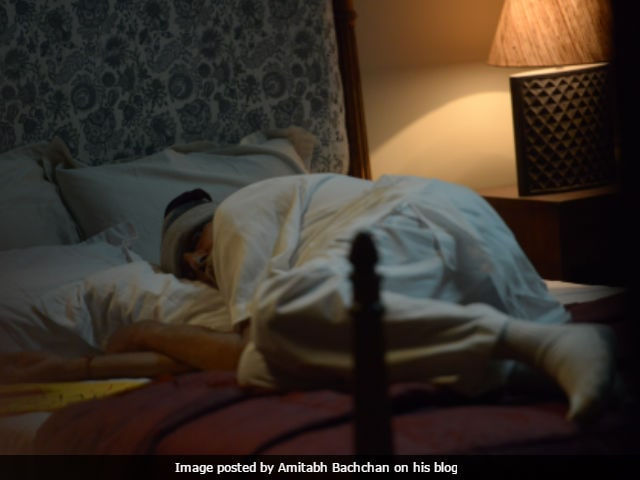 When Amitabh Bachchan Actually Fell Asleep While Filming A Scene