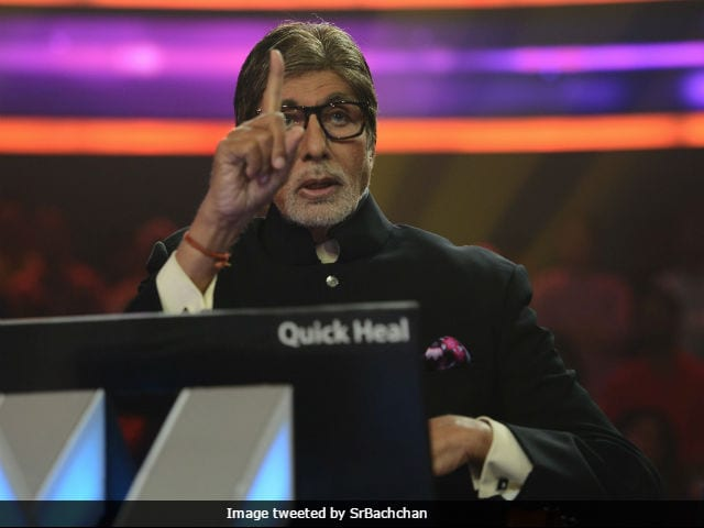 Amitabh Bachchan Shares First Picture From The Sets Of Kaun Banega Crorepati
