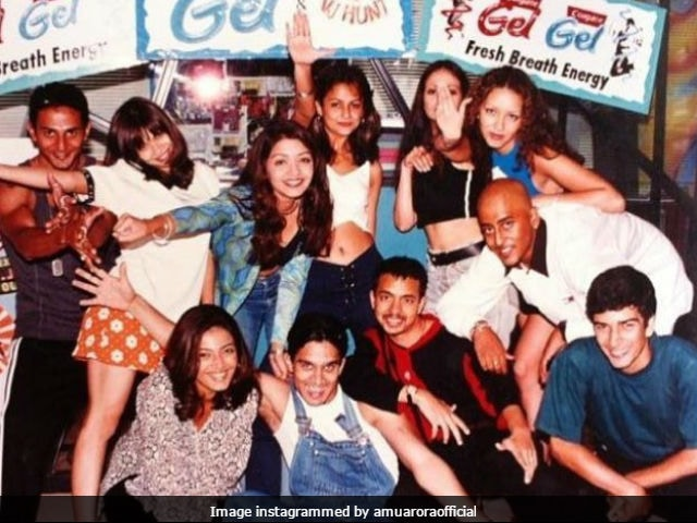 Amrita Arora Just Took Us Back To The 90s With This Pic