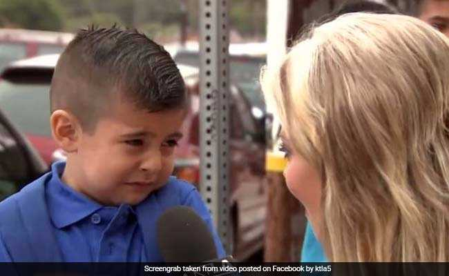 Boy From Viral Back-To-School Video Returns, Answers Same Question Again