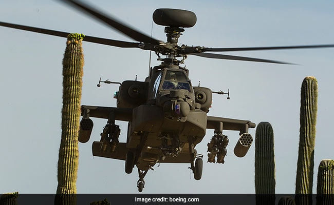 Defence Ministry clears acquisition of six Apache attack helicopters for Army